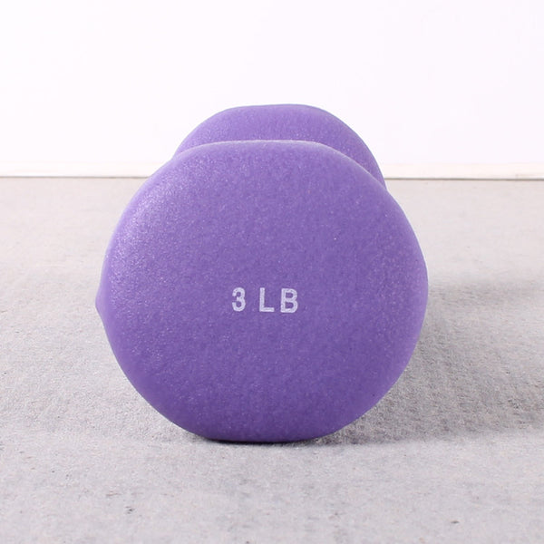 Hand Weights Purple 3 Pound