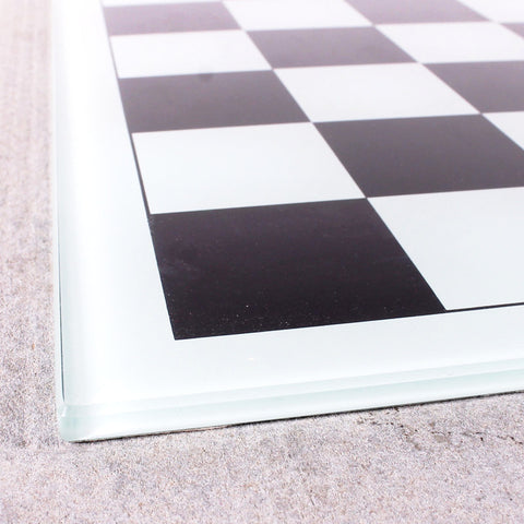 Chess Board Glass