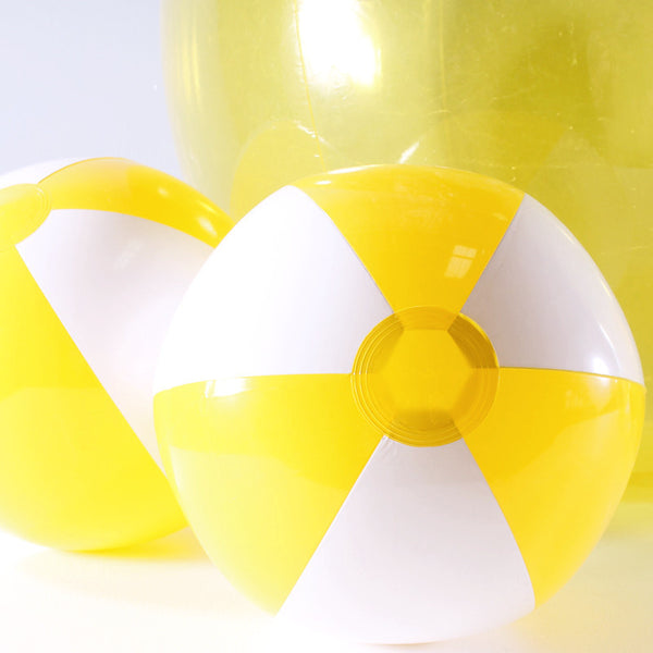 Inflatable Yellow Beach Balls