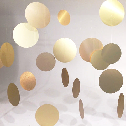 Floating Dots Gold