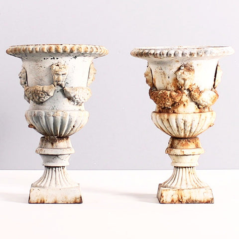 Antiqued Planters