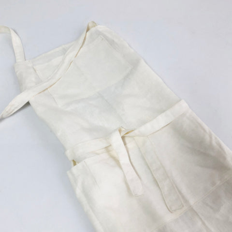 Apron Linen 2 Pocket