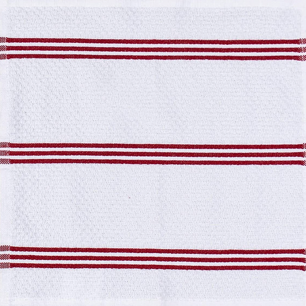 Dish Towels Red Stripe