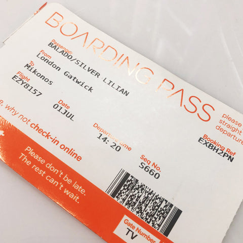 Plane Ticket EasyJet