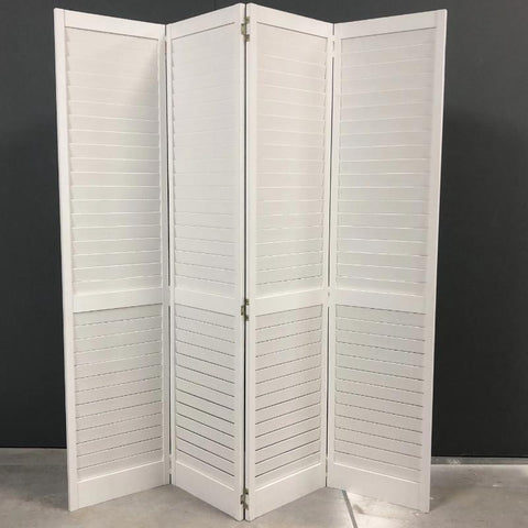 Folding screen white