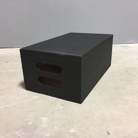 Apple box black 19 3/4 x 11 3/4 x 8
