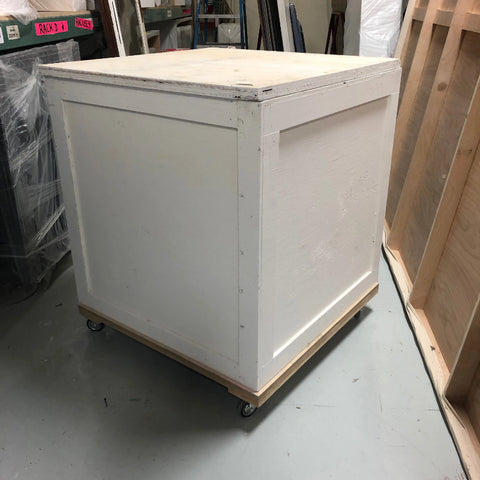 Crate White 37 x 37 x 37