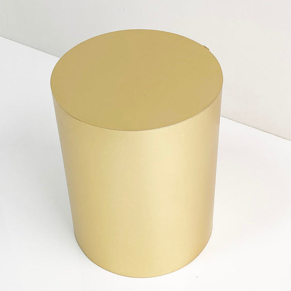 gold brushed cylinder 18 x 14