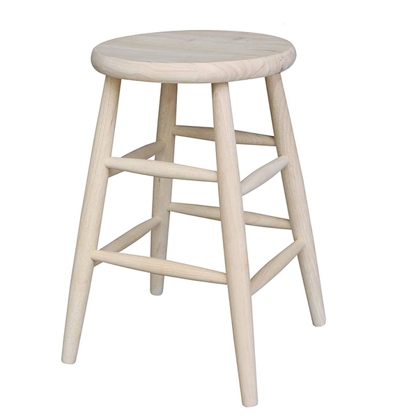 Rubberwood Stool