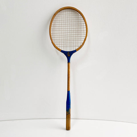 Badminton Blue Racket