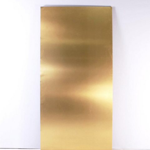 brushed gold 98 x 48