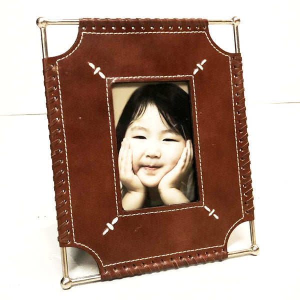 Picture Frame Leather Rim
