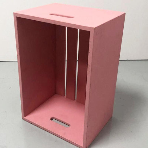 Crate pink 24 x 16 x 14