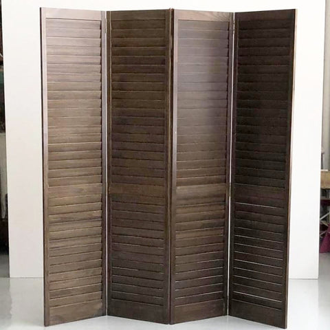 Folding Screen walnut