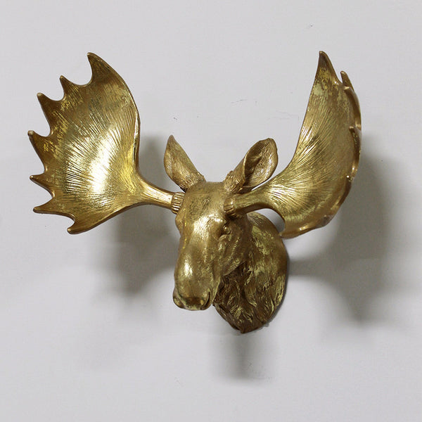 Wall Mount Moose