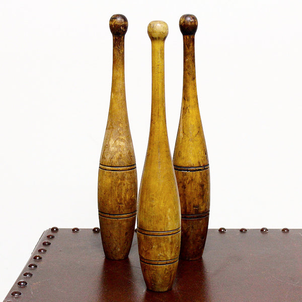 Wooden Bowling Pins