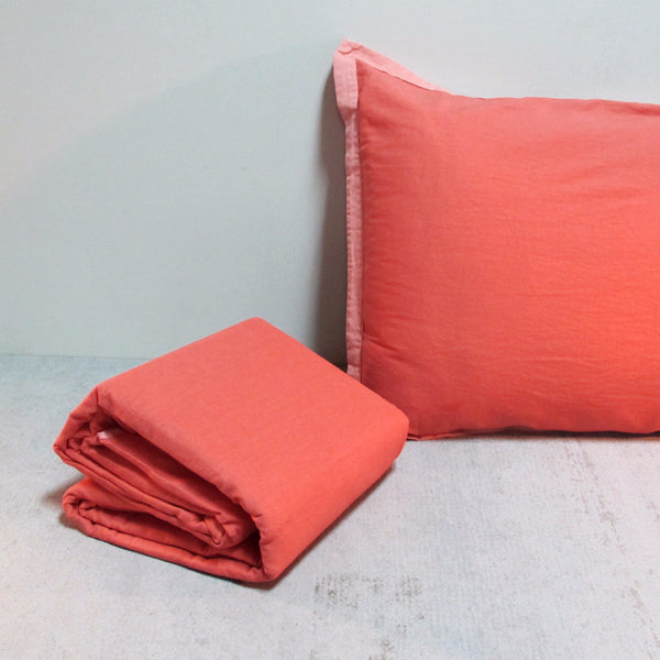 Tangerine Duvet Set King