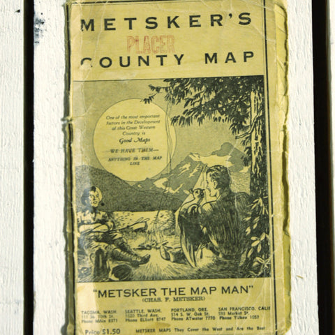 Map Metsker's County