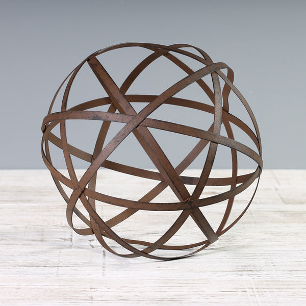 Orb Metal Sculpture