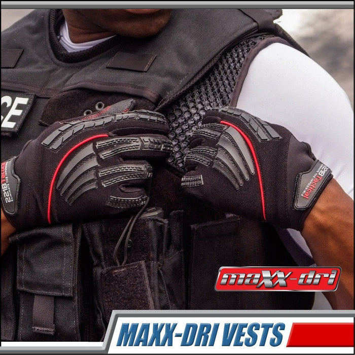 Body Armor Cooling & Ventilation For Police Officers Trying To Stay Drier, Cooler and Less Sweaty While Wearing Their Vest On The Job!