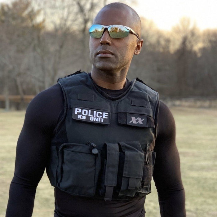 "Police Officer Invents Anti-Bacterial Breathable Base Layer Shirt To Wear Beneath Body Armor With A ""Cool"" Hidden Feature"