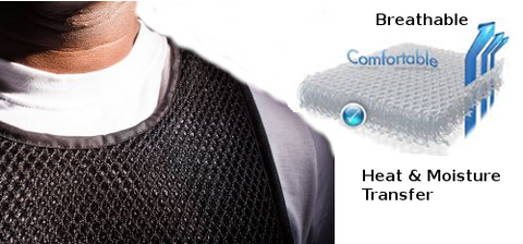Police Officer Creates Cool Breathable Vest To Wear Under