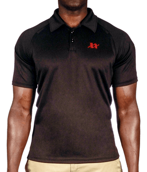 Maxx-Dri Tac-Fit Polo Shirt Apparel 221B Resources LLC Black S