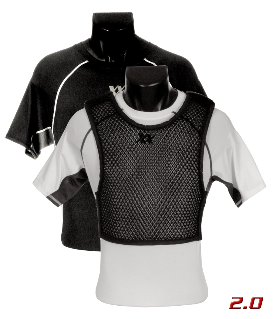 Maxx-Dri Ultra Comfort System 2.0 Black (Maxx-Dri 2.0 Vest with Compression T-Shirt)