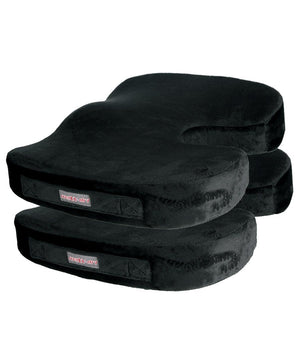 "Solace ""Select"" Non-slip Orthopedic Seat Cushion Accessories 221B Resources LLC Black 2-Pack"