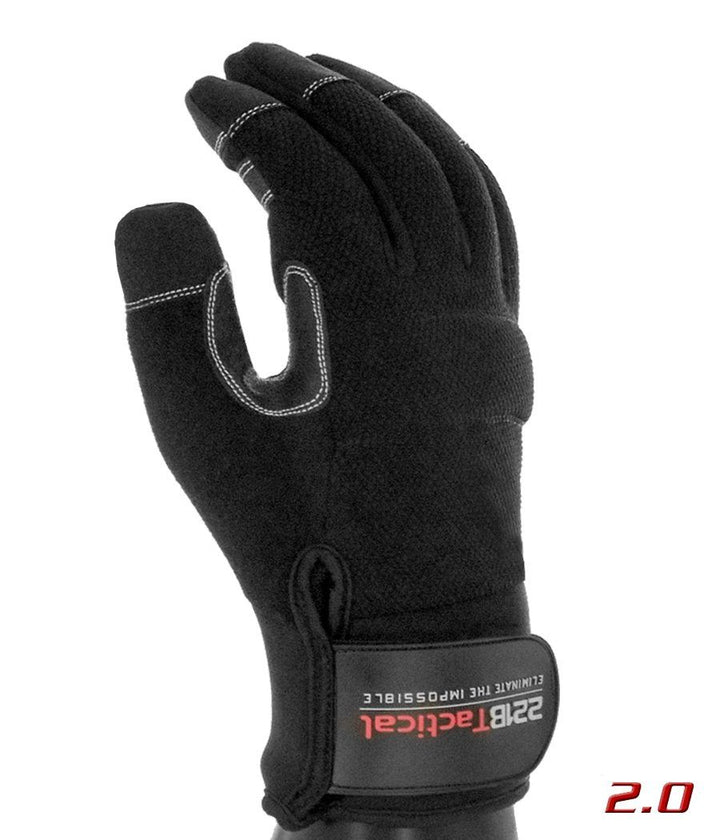 Equinoxx Gloves 2.0 - Thermal & Water-Resistant Gloves 221B Tactical Black XS