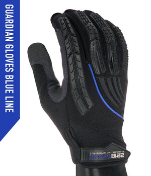 Guardian Gloves - Level 5 Cut Resistant Gloves 221B Resources LLC XS Blue Line