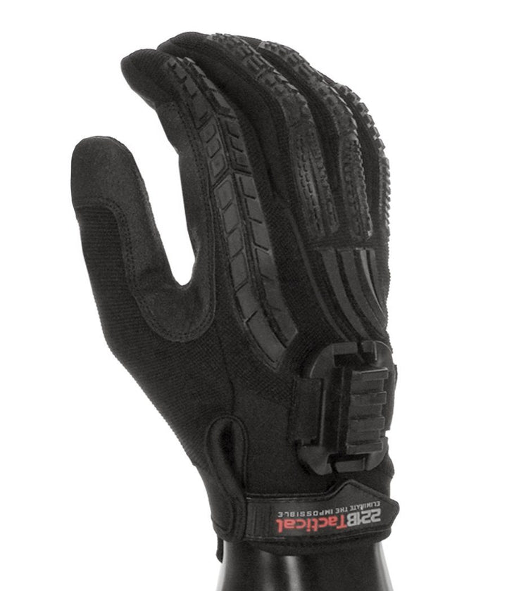 Guardian Gloves EXT with Rail Clip (No Light) Gloves 221B Resources LLC Black Edition XS