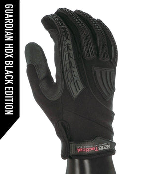 Guardian Gloves HDX - Level 5 Cut Resistant Gloves 221B Resources LLC XS Black Edition