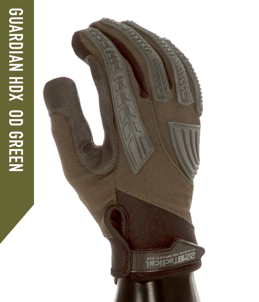 Guardian Gloves HDX - Level 5 Cut Resistant Gloves 221B Resources LLC XS OD Green