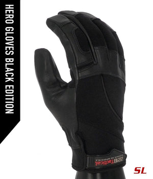 Hero Gloves SL - Needle Resistant Gloves 221B Tactical XS Black Edition