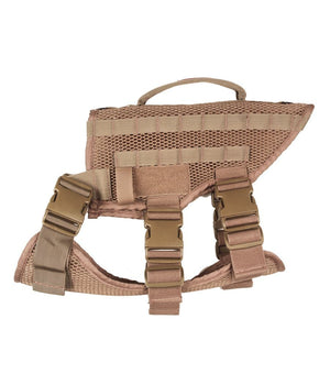 Noxx Dog K-9 Harness K-9 221B Tactical M Desert Tan