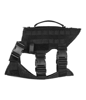 Noxx Dog K-9 Harness K-9 221B Tactical M Black