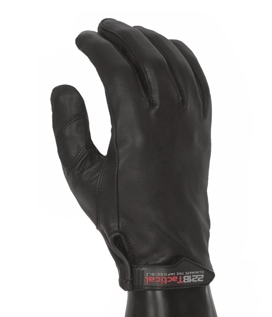 Sentinel Gloves - Leather Level 5 Cut Resistant Gloves 221B Tactical XS