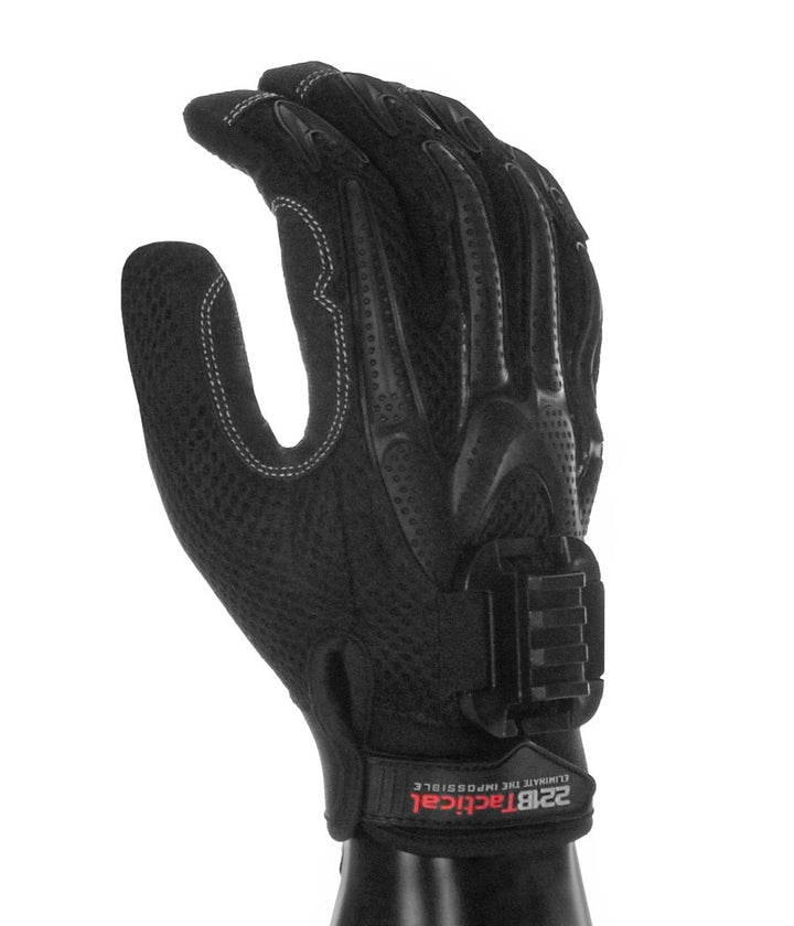 Titan K-9 Gloves with Rail Clip (No Light) Gloves 221B Tactical XS