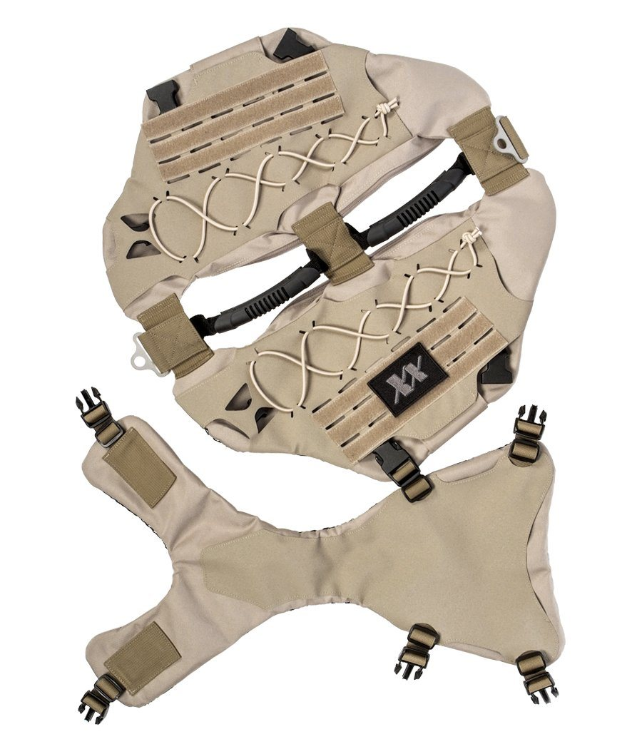 Titan Vest - Level IIIA K-9 Body Armor K-9 221B Tactical