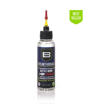 Breakthrough® Battle Born HP Pro Lubricant and Protectant 2 fl oz Bottle Gun Cleaning 221B Resources LLC