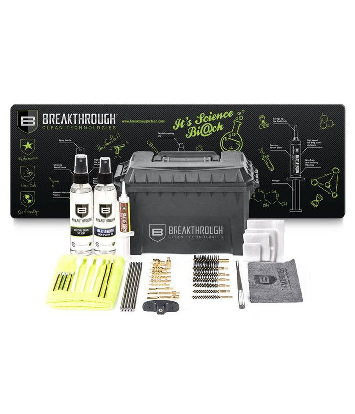 Breakthrough® Ammo Can Bundle Gun Cleaning 221B Resources LLC