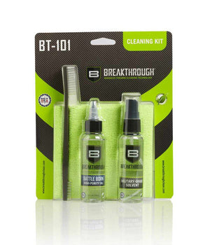 Breakthrough® BT-101 Basic Cleaning Kit Gun Cleaning 221B Resources LLC