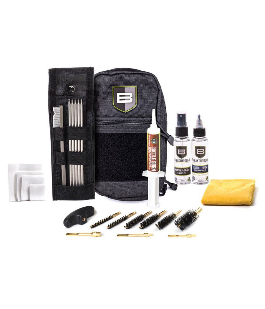 Breakthrough® LOC-U ROD CLEANING KIT w/ STEEL RODs Gun Cleaning 221B Resources LLC