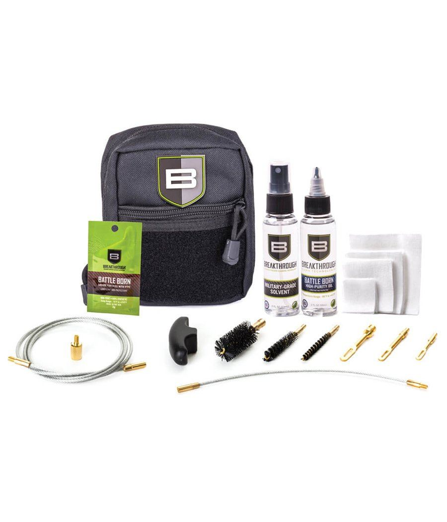 Breakthrough® QWIC-3G Pull Through Firearm Cleaning Kit Gun Cleaning 221B Resources LLC