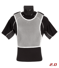 Maxx-Dri Ultra Comfort System 2.0 White (Maxx-Dri 2.0 Vest with Compression T-Shirt)