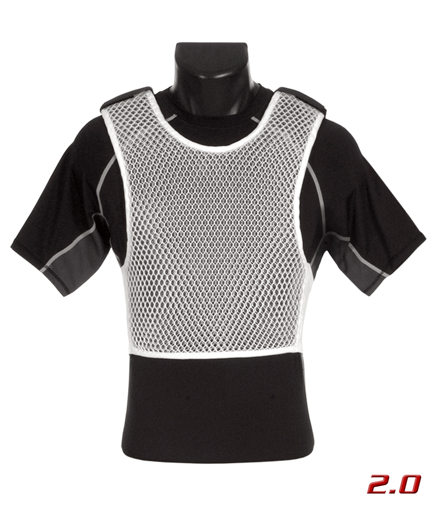 Maxx-Dri Vest 2.0 Body Armor Ventilation Maxx-Dri 221B Tactical White XS 1-Pack