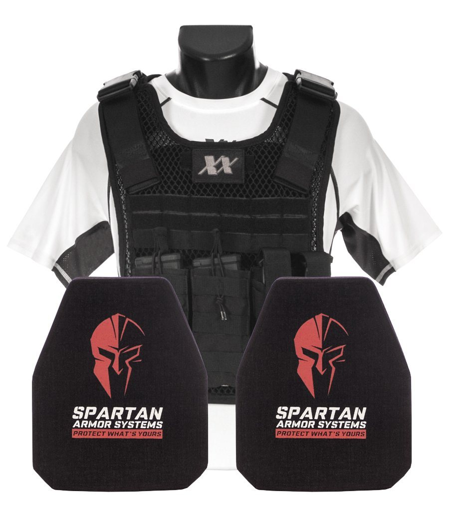 Phantom Plate Carrier with (2) Level III+ Ceramic Composite Shooters Cut Plates ...  sc 1 st  221B Tactical : body armor ceramic plates - Pezcame.Com