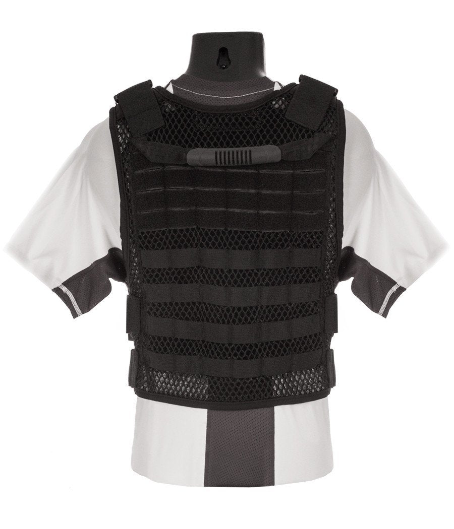 Phantom Plate Carrier with (2) Level III+ Ceramic Composite Shooters Cut Plates Maxx-Dri Carrier 221B Resources LLC