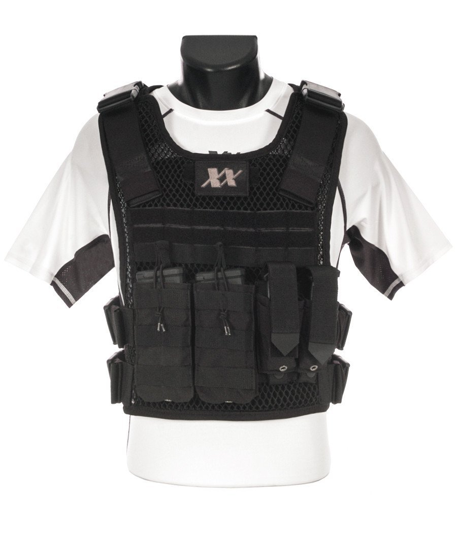 Phantom Plate Carrier with (2) Level III+ Ceramic Composite Shooters Cut Plates